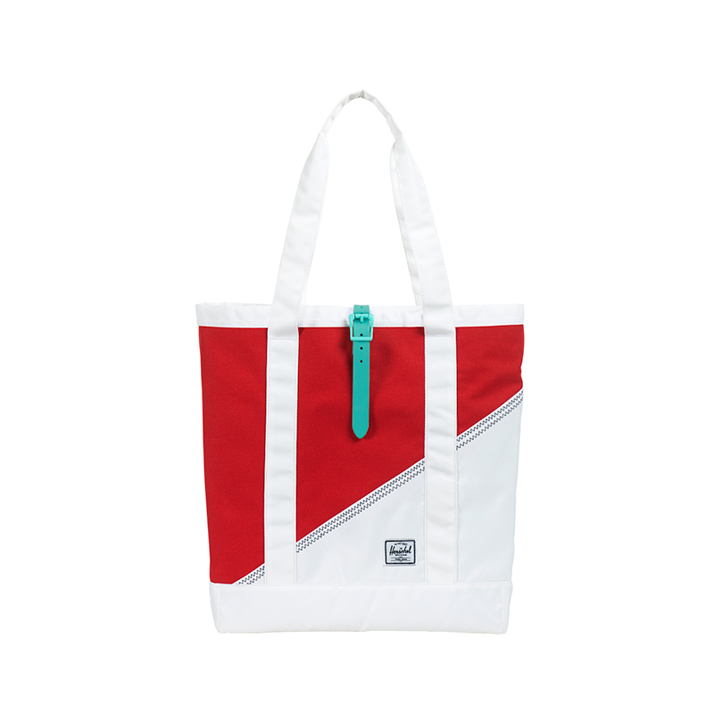 Market in Red Racing/White/Mark Teal.  | Herschel Supply Co.