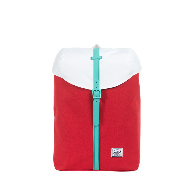 Sutton Mid in White/Cardinal Yellow/Regatta Blue.  | Herschel Supply Co.
