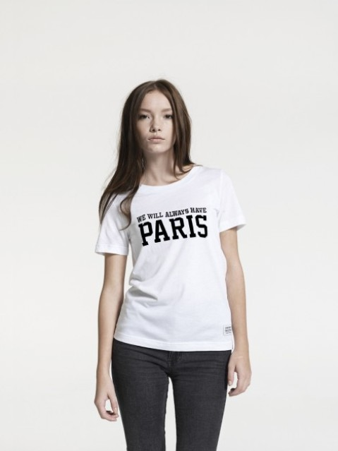 """We Will Always Have Paris"" Tee. 