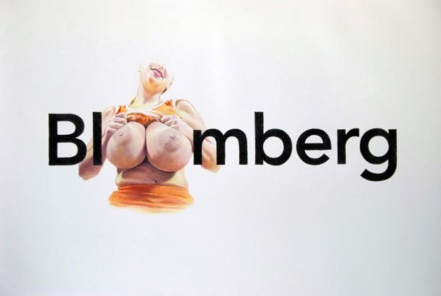 Full Bloomberg. | Eric Yahnker.