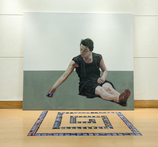 Una pintura es una acción (Apropiación Maria Teresa Hincapíe). | Juan Fernando Escobar.