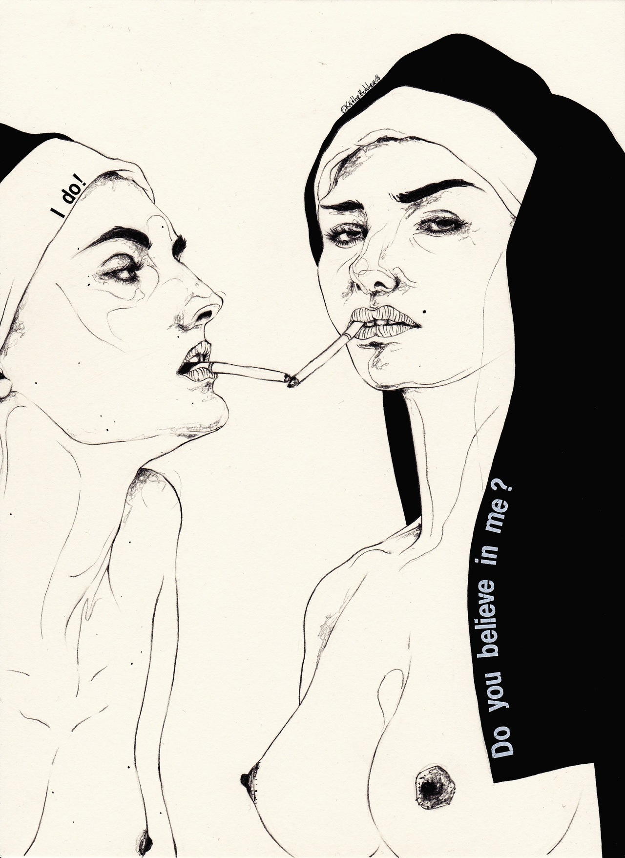 Quiet_Lunch_Magazine_Kaethe Butcher Do You Believe In Me