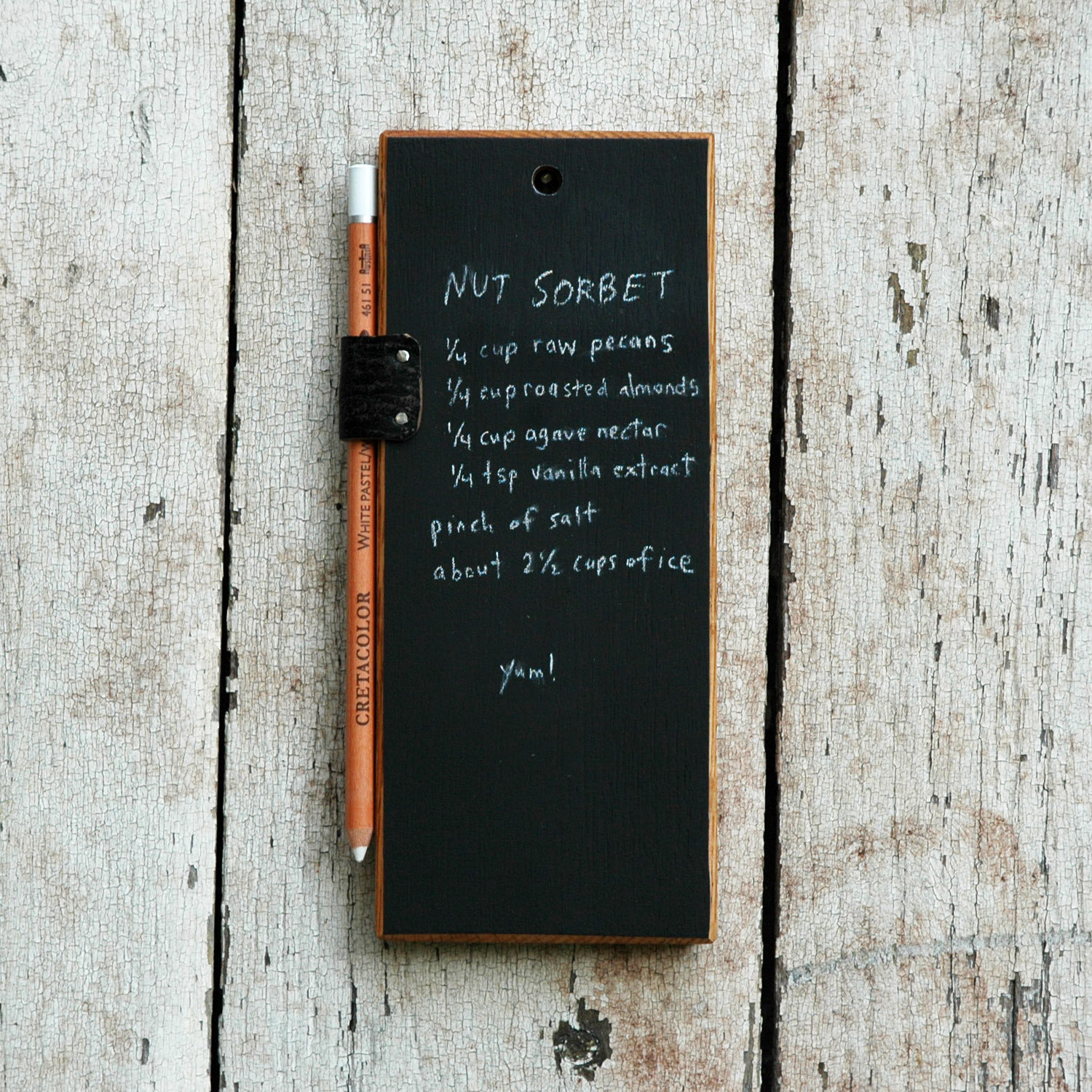 Quiet_Lunch_Magazine_Chalkboard Tablet by Peg & Awl 3