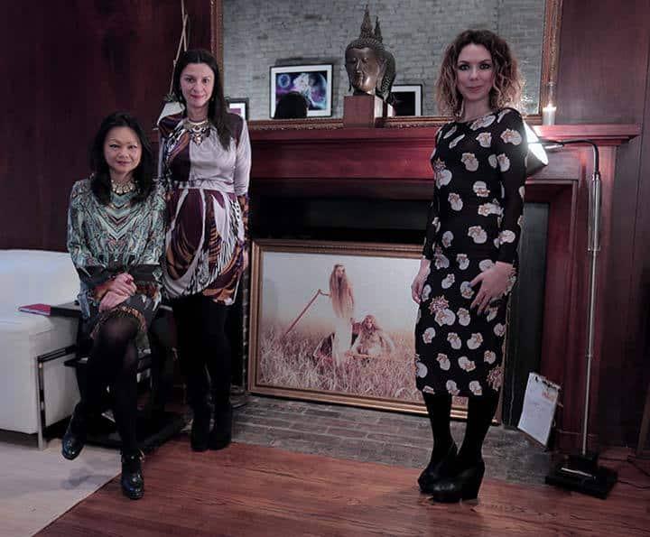 Jennie-Ma-Mia-Morgain-Georgina-Billington-Quiet-Lunch--Magazine-VIP-Launch