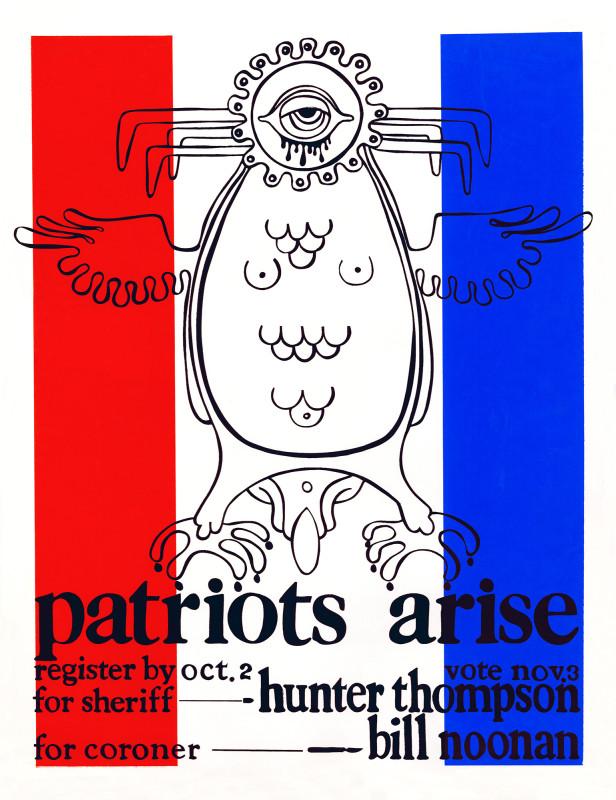 Patriots Arise - no sig