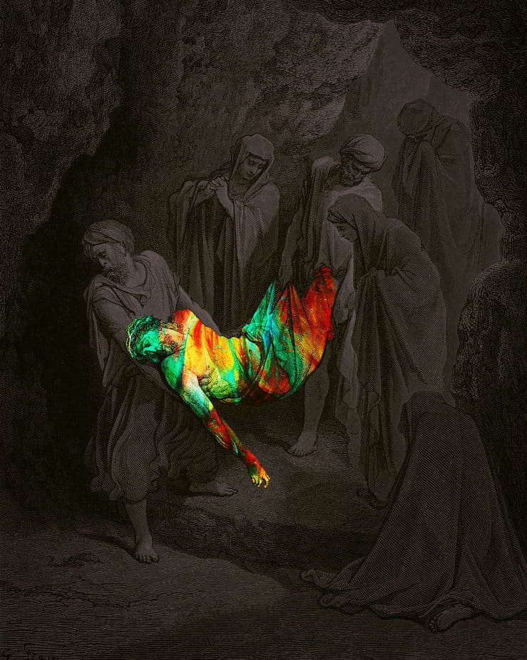 quiet-lunch-jim-lepage-jesus-paint_burial-of-christ_1000