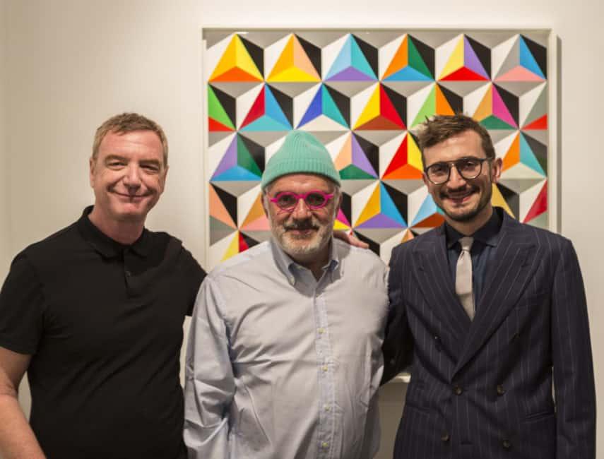Marco Casentini, Ron Agam, Alberto Pasini