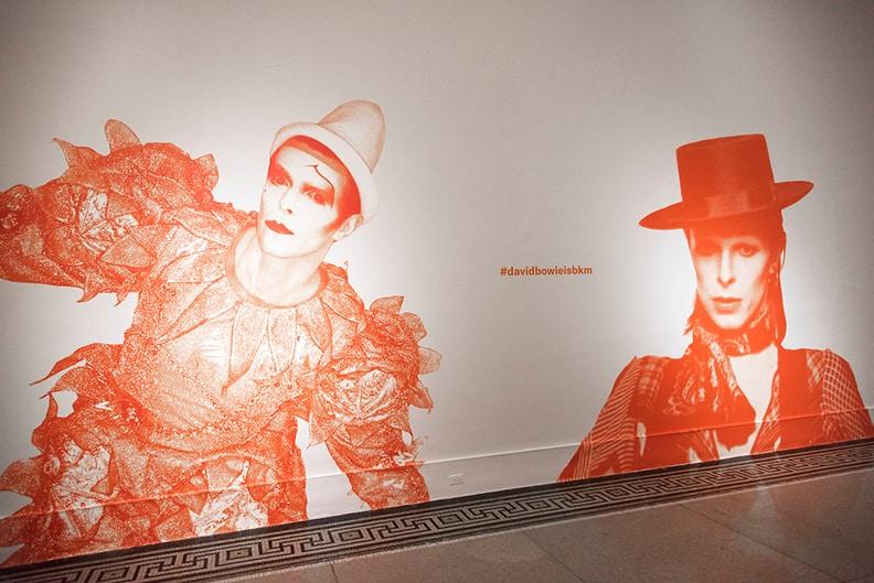 David Bowie is, March 2, 2018 through July 15, 2018, installation view. (Photo: Jonathan Dorado, Brooklyn Museum)