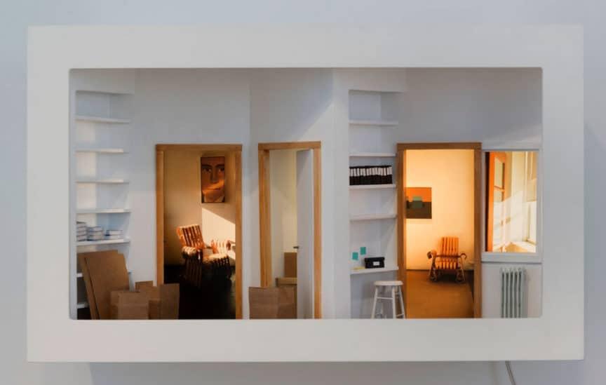 Susan Leopold, Gallery Move, 2017.